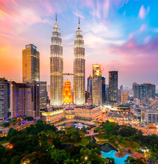 pacotes para malasia