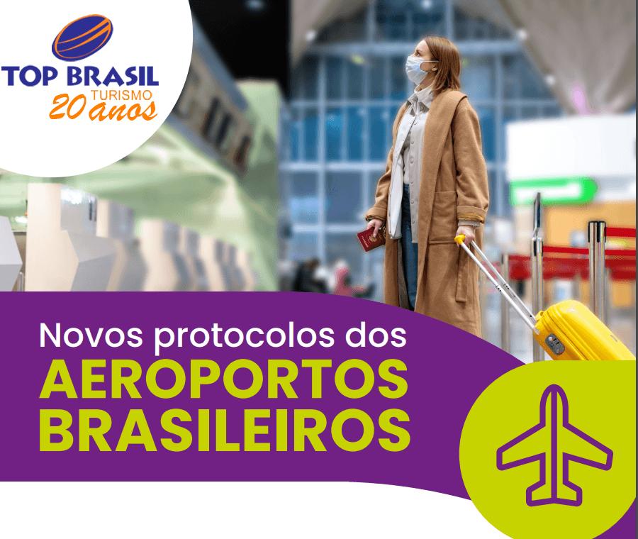 novos protocolos nos aeroportos