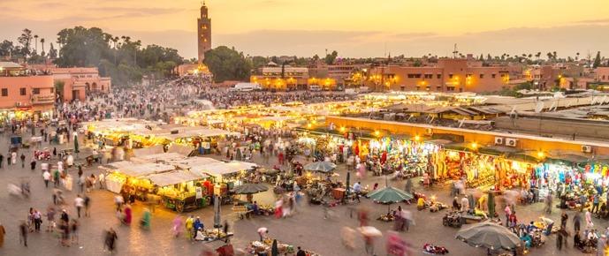 pacotes para o marrocos